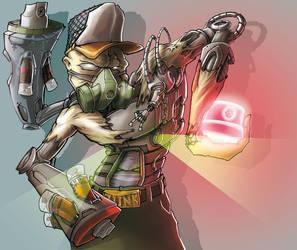 Cybernetic Graffer by TWOFLAG