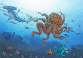 Submarine World by TWOFLAG