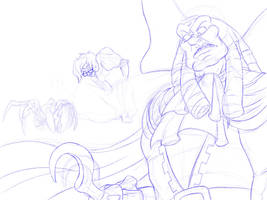 COCONUT CRAB!! WIP by GoldenPoncho