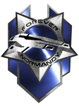 Forever Normandy Badge by demondeathx