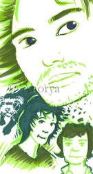 Portraits - III by Anorya