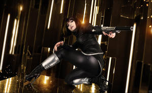 Anna Kelso Deus Ex The FALL by KeyTaylor