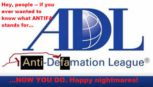 ANTIFA Under Anti-Defamation's Guise (meme) by TheSkull31