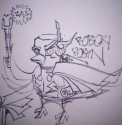 Robot Robin by BARNEY17666