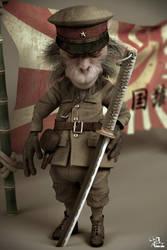 Kamikaze Yellow Monkey by kaichooo