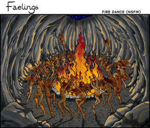Faeling Fire Dance by Myari