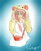 Jeanette - Panda Onesie (kigu) by Pwnigator
