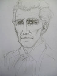 DR WHO-PETER CUSHING by seanwaterfield