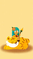 lil Tiger Lilly cookie by meoconchi