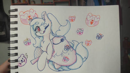kumiho cookie but in pony version by meoconchi
