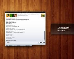 Dream IM chat window by chanq