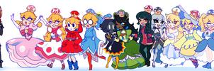 Princess Parade Pt. 2! by sugaryacidart