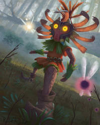 Skull Kid by Raedrob