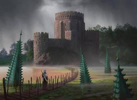 Sunken Ruins by Raedrob