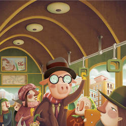 PIG BUS by gigi4g