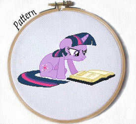 Twilight MLP Cross Stitch Pattern by JuliefooDesigns
