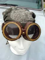 Steampunk Goggles by RustLust2011