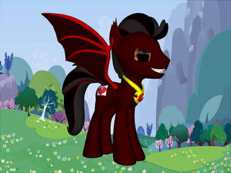 MLP OC: Bloodfang by Duelboy12