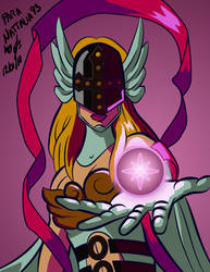 Comision Sencilla - Angelwomon by DonGueroLabs