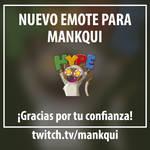 Comision de emote para Mankqui by DonGueroLabs