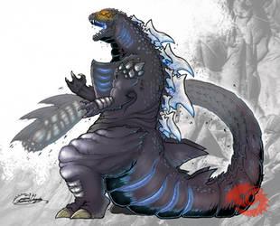 GODZILLA LEGACY - Godzilla by SeaGunsLives