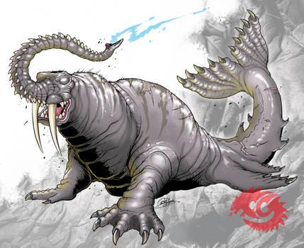 Godzilla Legacy Maguma By Seagunslives On Deviantart