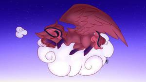 sleeping  by Dragonflight7125
