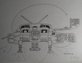 Aliens Dropship by Creon25367