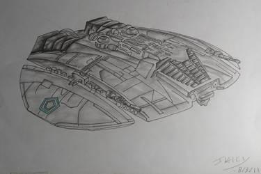 Cylon Raider by Creon25367