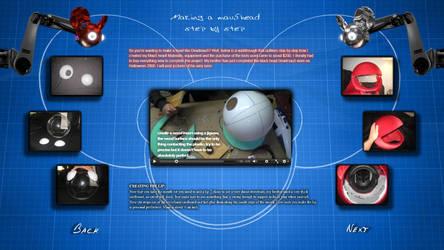 Screenshot of the DIY Mau5head page in dd5 by deema78