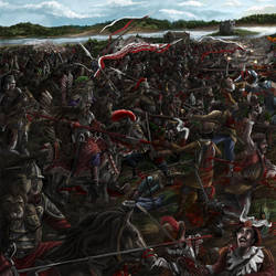 Battle of Kircholm by propagangjah