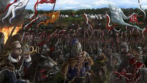 Battle of Klushino by propagangjah