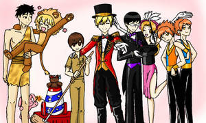 Ouran Circus Cosplay by HannahTheHedgehog15