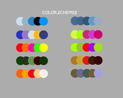Color Palette by RedVioletPanda