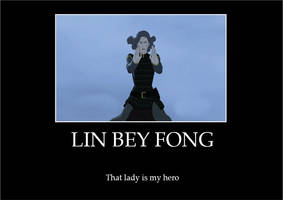 Lin Bey Fong Motivational Poster by EnvitChan