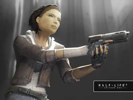 Half Life 2 Ep 1 - Alyx Vance by seniortwinkie