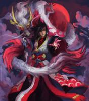Onmyoji Fanart Contest - Susabi by LeonSofi