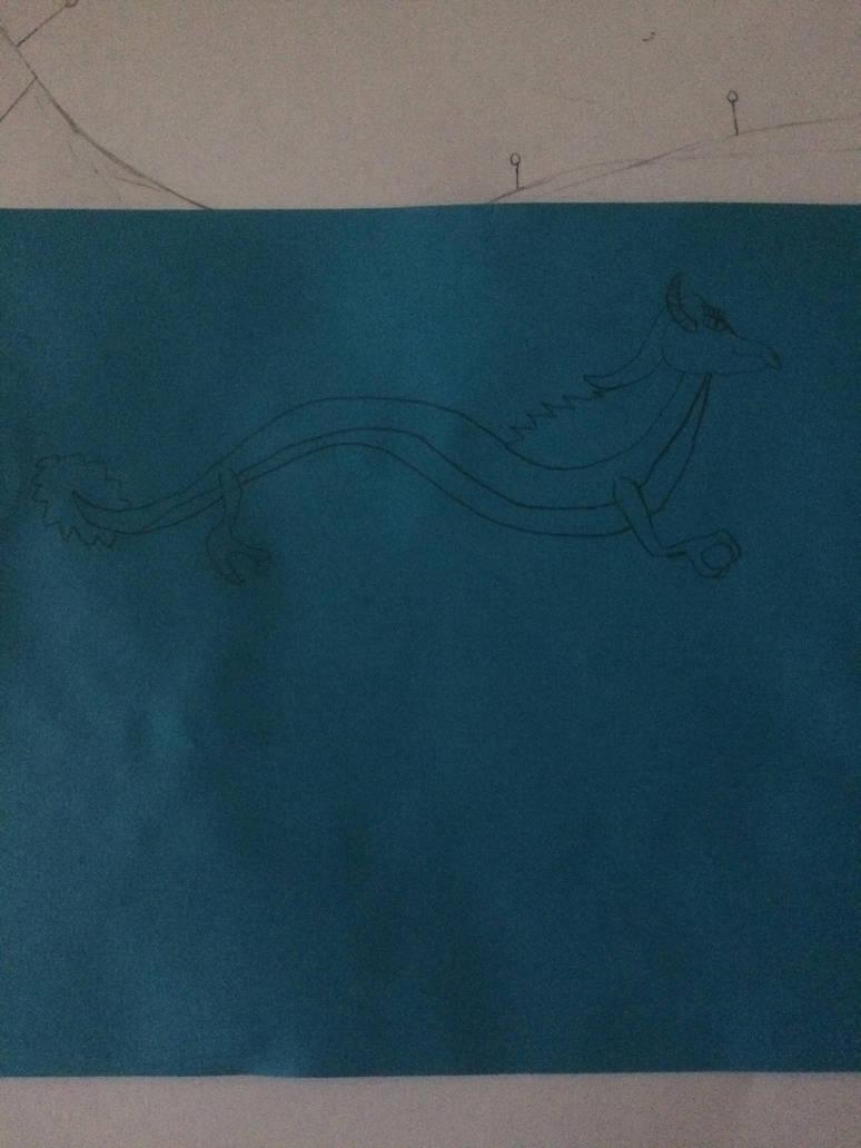 Streamline the Wind Dragon by MrBLUERANGERHERO