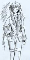 Vanilla Concept Sketch by chisana