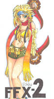 FFX2Rikku by chisana