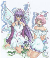 variation on snow fairies by chisana