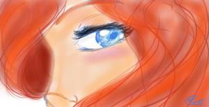 Eyes of the sea by 1angel0wings1