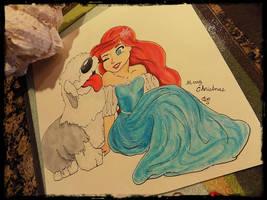 The Little Mermaids K9 by 1angel0wings1