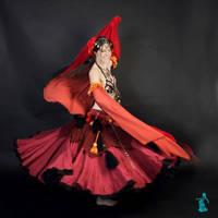 Photoshoot - Tribal Esmeralda [2/8] by LadyAzurFromAlkemya