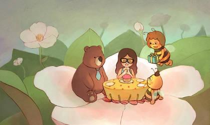 a special birthday by elisetrinh
