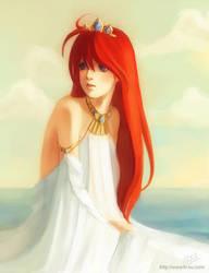 Princess Kia Ryou coloured by elisetrinh