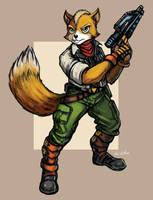 StarFox by TheLivingShadow