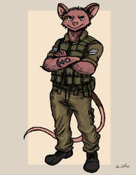 Sgt. Morti Kanarek by TheLivingShadow