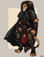 Lion Warrior by TheLivingShadow