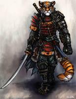 Tiger Samurai - Hiroshi Saito by TheLivingShadow